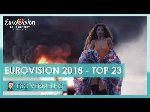 Eurovision 2018 - TOP 23 (So far)