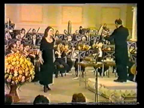 Angela Gheorghiu - Charpentier: Depuis le jour - Radio Hall Bucharest 1988