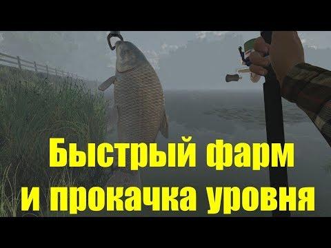 Fishing Planet - фарм денег и быстрая прокачка с 5 до 15 уровня