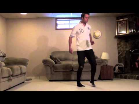 At Home Football Drills: Ball Control Football Drills