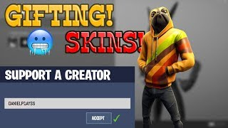 GIFTING SKINS! | ZONE WARS WITH SUBS! | USE CODE: DANIELP1AYSS (FORTNITE ITEM SHOP COUNTDOWN)