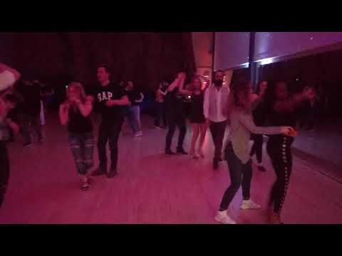 V13 UKDC DJ-KAKAH XMAS Social Dance Party ~ video by Zouk Soul