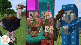 10 Mobs Coming to Minecraft!