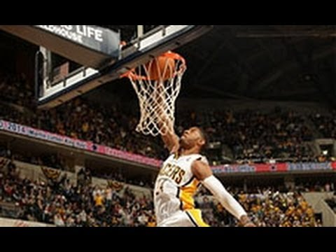 Paul George's 360 Windmill Slam!
