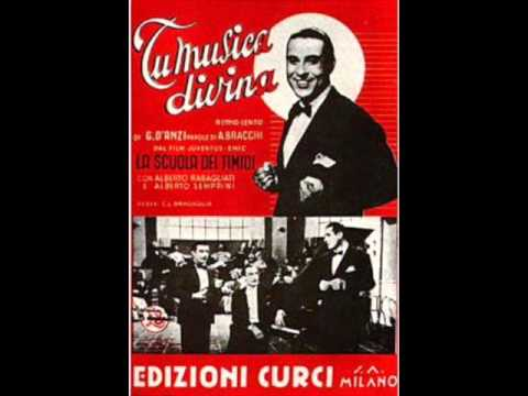 Alberto Rabagliati – Tu, musica divina (con testo).wmv