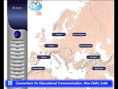 World Geography Through Map -II