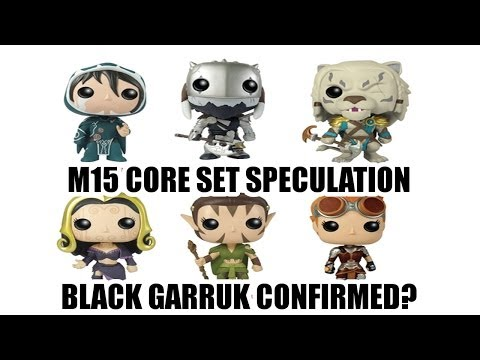 MTG Speculation: Garruk is Black in M15 Confirmed?