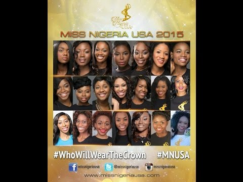 Miss Nigeria USA 2015 Press Conference