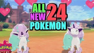All 24 NEW Pokemon Reveals for Sword and Shield