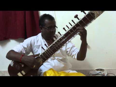 Sitar,bageshri,nilave Ennidam M.s.viswanathan, By Nanganallur P.v.s.jagath Eesan. video