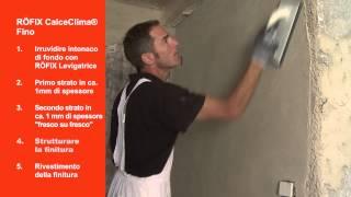 Video RÖFIX CALCECLIMA® FINO su RÖFIX TV