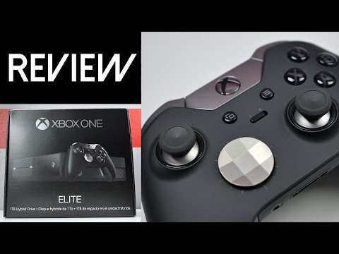 Xbox One Elite Console and Controller: Unboxing & Review