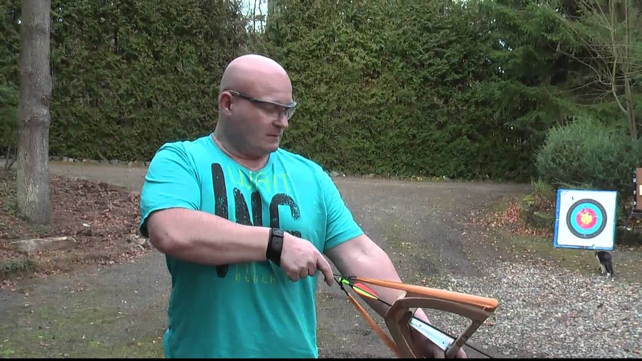 how to make a hunting bow from scratch