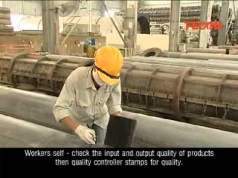 FECON - Sản xuất cọc bê tông ly tâm DƯL.