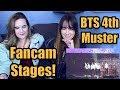 BTS 4th Muster: Fancam Stages!