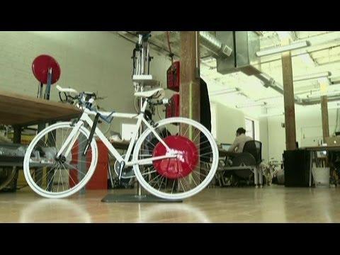 COPENHAGEN WHEEL: WILL THE ELECTRIC-HYBRID 'VEHICLE' REINVENT BIKING ? BBC NEWS