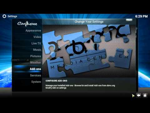 how to get xunity maintenance on xbmc