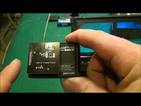 NEW! Micro Video Transmitter for GoPro! 1.3G or 5.8G Hero 3 or 3+