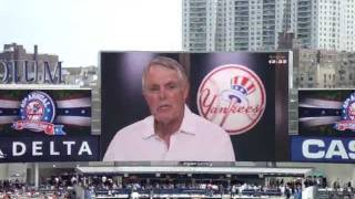Yankees 2011 Old Timer's Day Gene Monahan Tribute (Part 1)