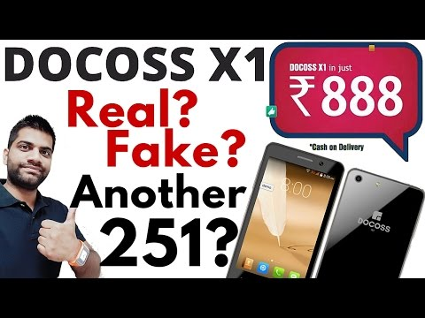 Docoss X1-The 888INR Smartphone!! Real or Fake? Another Scam?