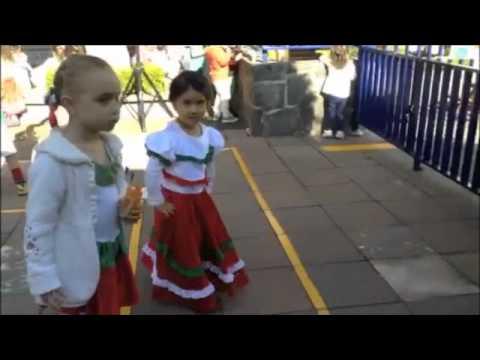 Fiesta mexicana Kindergarten Colegio Alemán Xochimilco 2014