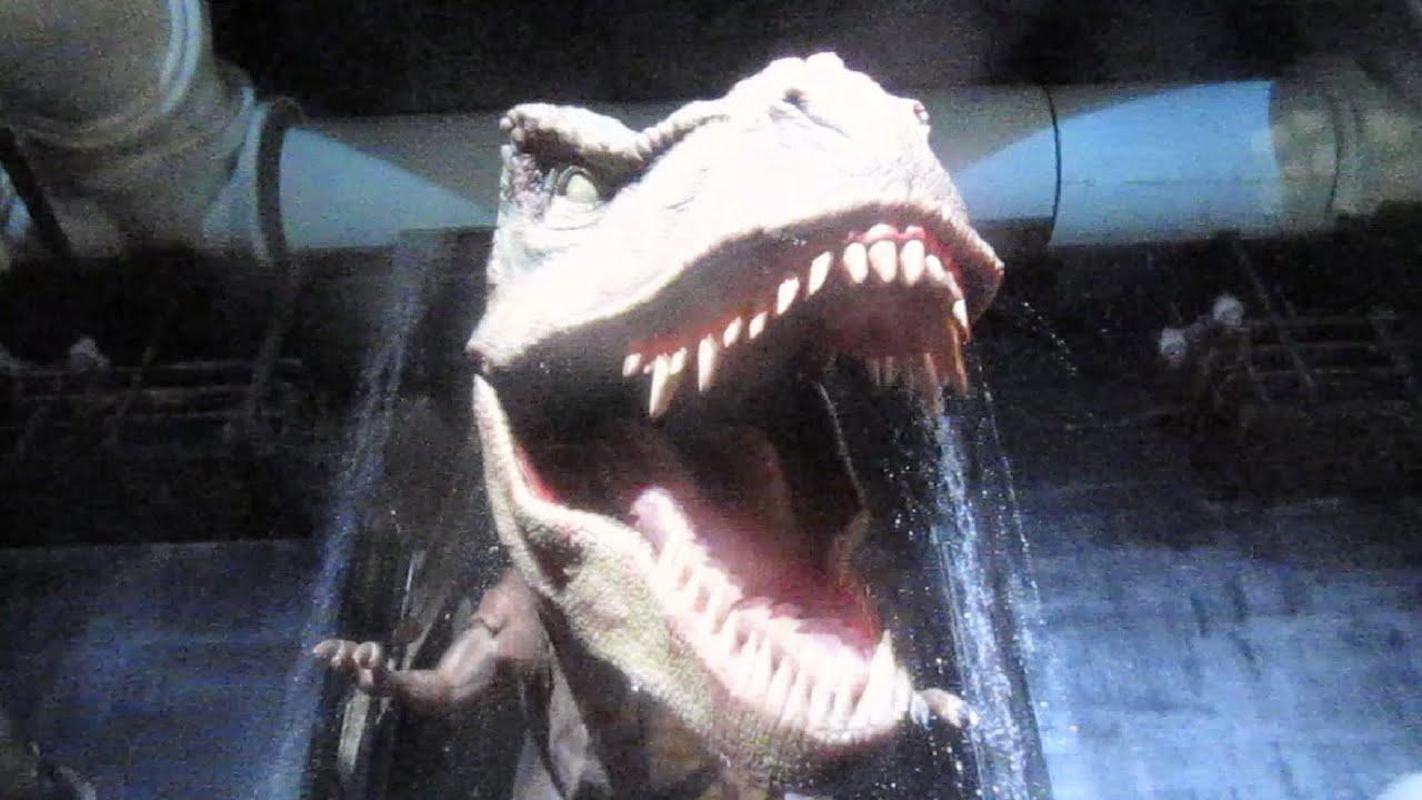 Jurassic park the ride front seat on ride hd pov universal studios
