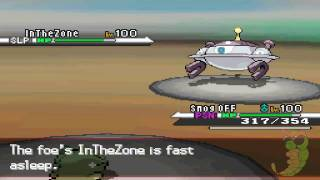 Pokémon Black / White WiFi Battle #43: Zoroark!