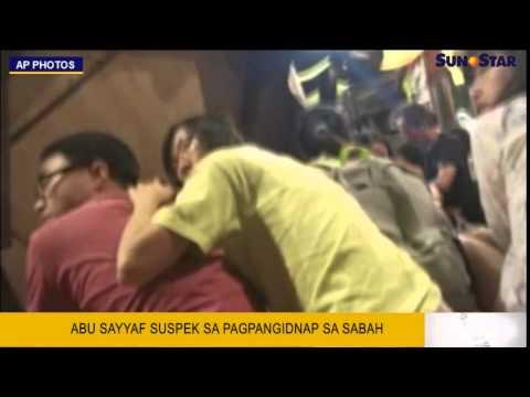 Abu Sayyaf suspek sa pagpangidnap sa Sabah