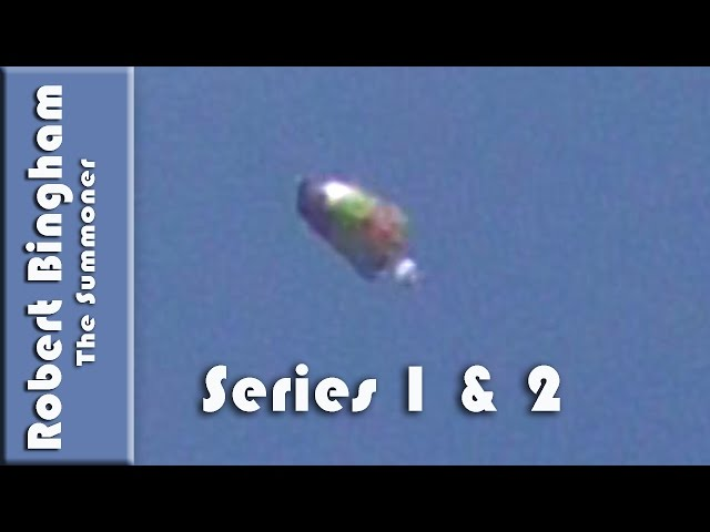 "UFOs captured in downtown Los Angeles by Robert Bingham ""Series 1 and 2"""