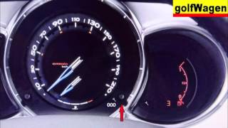 Citroen DS3/C3 service-oil-inspection light reset