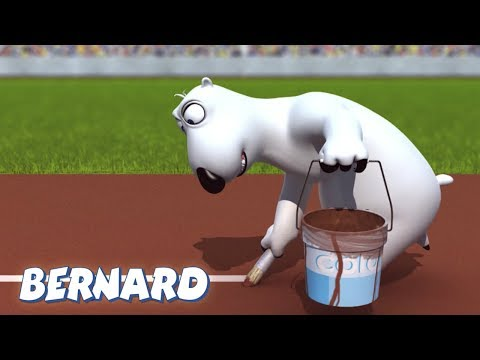 Bernard Bear | The Olympic Stadium AND MORE | Cartoons for Children