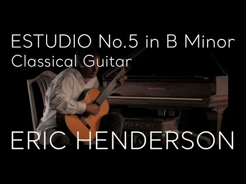 Fernando Sor - Estudio 5 In B Minor