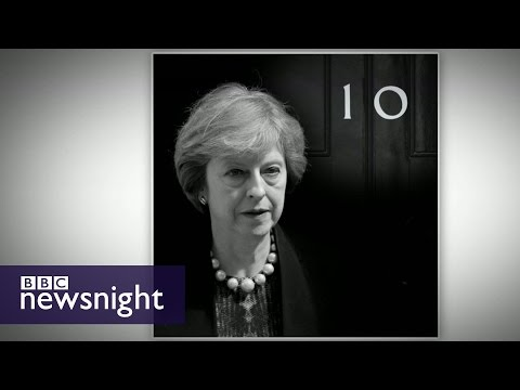 What's in Theresa May's in-tray? - BBC Newsnight