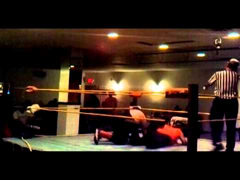 J.C. Dykes Jr. Vs. The Mighty Hojo on October 31, 2010 in Mabscott, WV in a double Dog Collar Match!