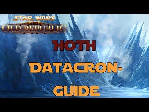 SWTOR Datacron Guide für Hoth Imperium