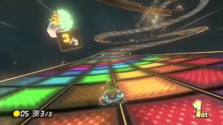 [Mario Kart 8] N64 Rainbow Road 200cc Gameplay