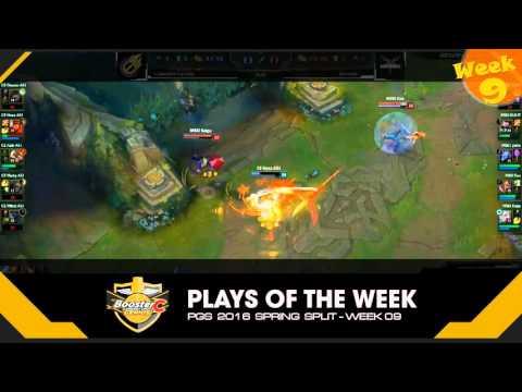 PGS Week 9 - Genius Plays of the Week