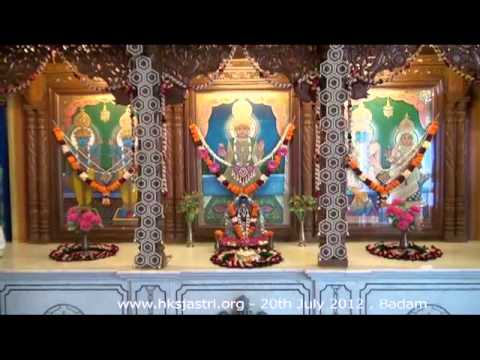 Hkshastri Hindola Darshan Badaam Almond - 20 July 2012 Shree Swaminarayan Temple, Gandhinagar video