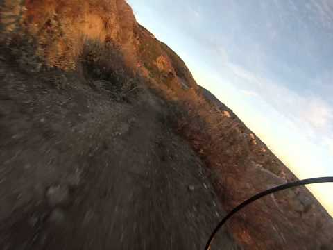 gopro downhill bmx trail riding