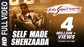 Self Made Shehzaada Full Video Song HD Santhu Straight Forward | Yash,Radhika Pandit|V. Harikrishna