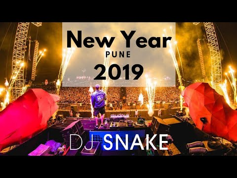 DJ Snake @Live At Sunburn Festival (New Year Event 2019)