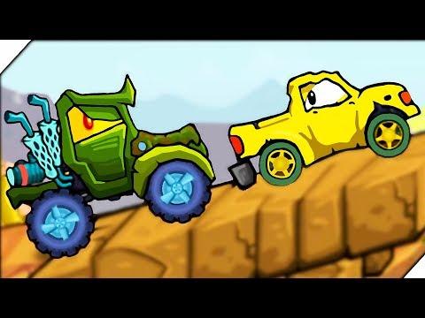 КРУТЫЕ ХИЩНЫЕ МАШИНЫ 3 - Игра Car Eats Car 3 про машинки  # 1