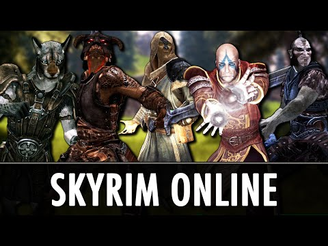 Skyrim Online Co-Op Multiplayer Mod - Tamriel Online [WIP]
