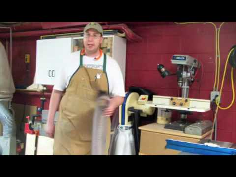 Renaissance Woodworker on the Rockler Dust Right System