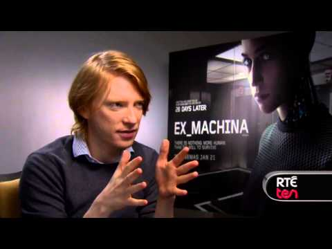 Domhnall Gleeson talks to TEN about Ex Machina
