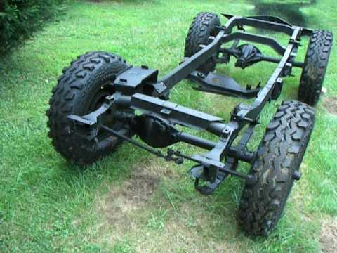 1945 Willys Cj2a Frame Primered Youtube