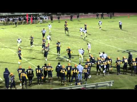 Rocky Mount High School Gryphons Football - Game Highlights vs. Wilson Fike - 10/24/14