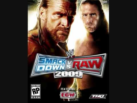 Smackdown vs Raw 2009 Soundtrack - Staring Without Caring