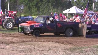 chevy truck pull 2 wd 2 wheel drive wood hauler