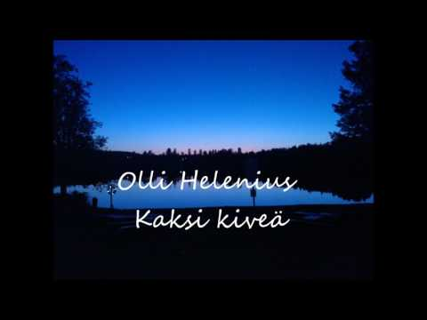 Olli helenius - Kaksi kiveä